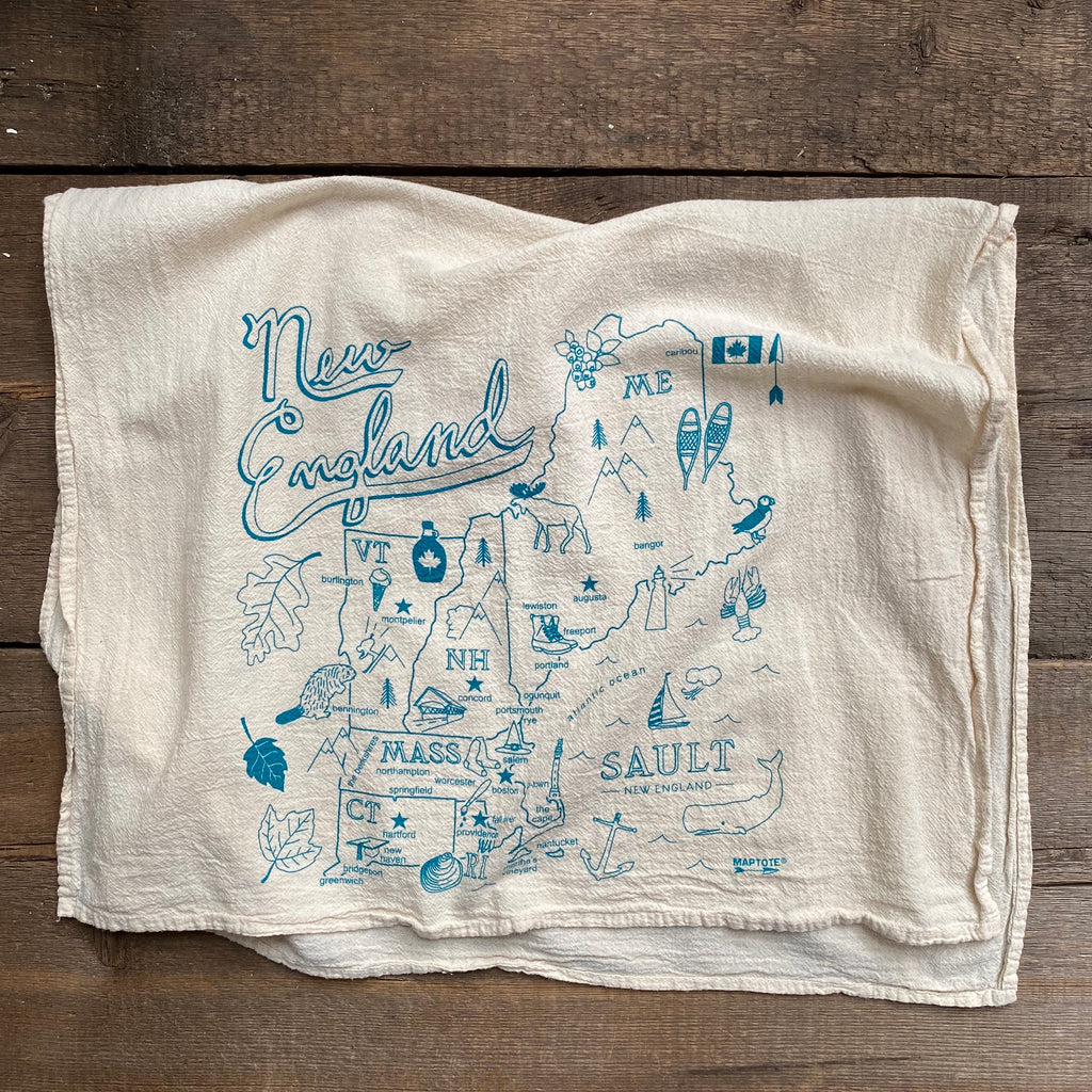 New England Tea Towel