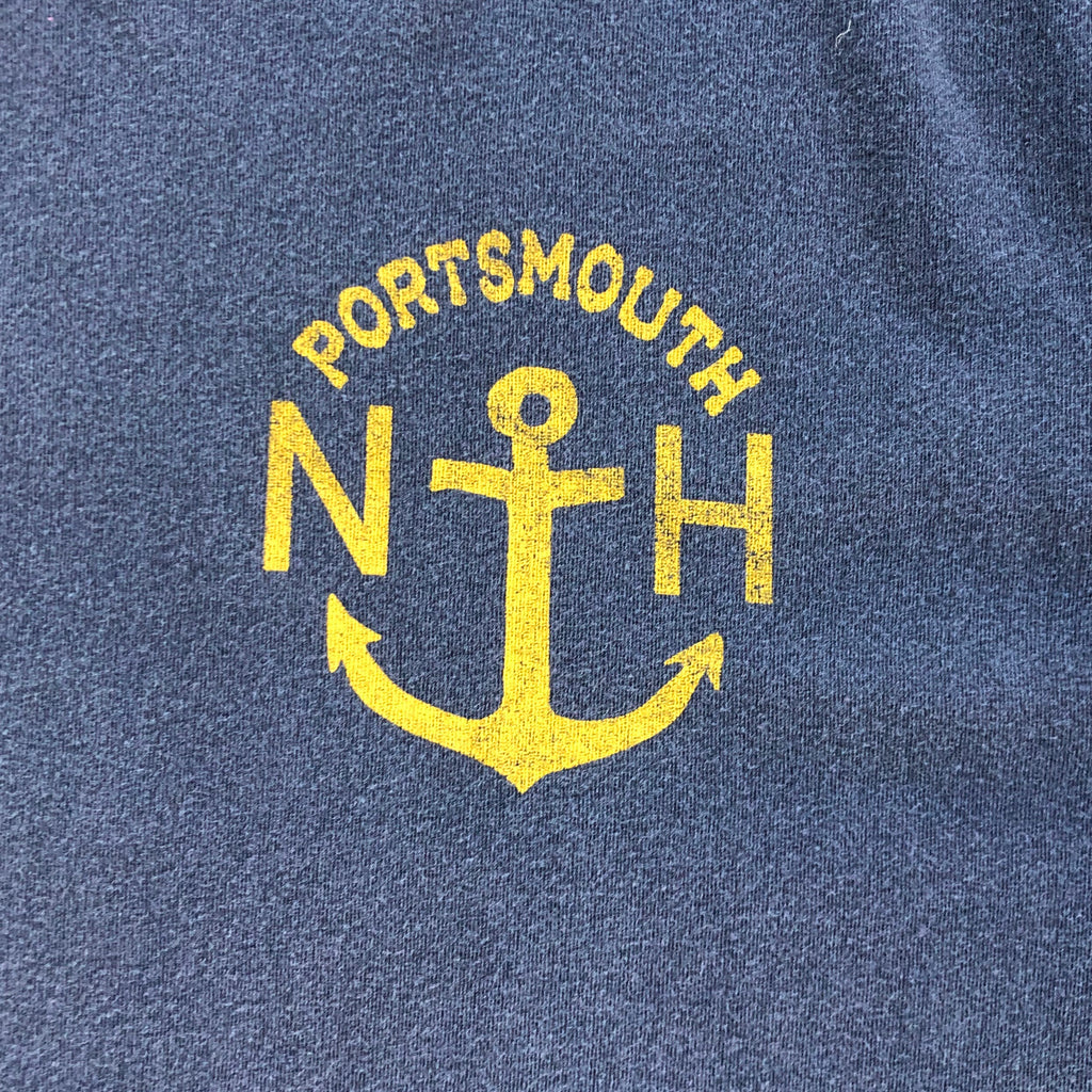Portsmouth Anchor T-Shirt, Charcoal