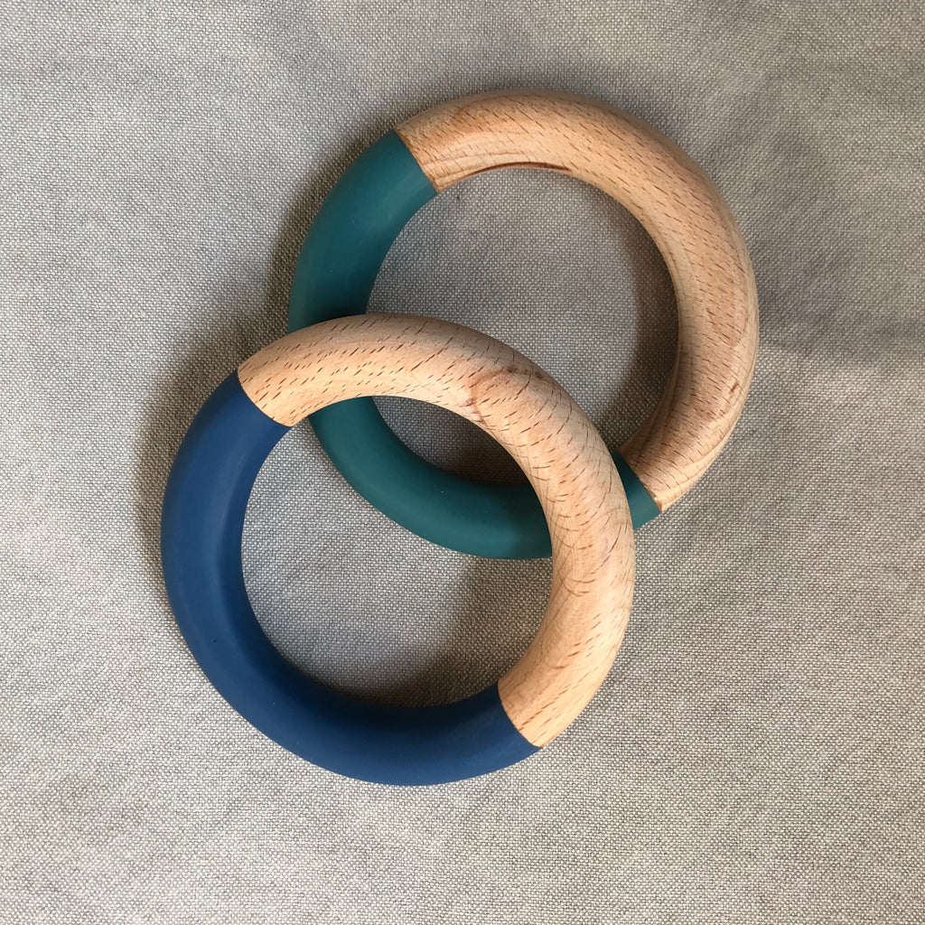 Wood + Resin Bangle