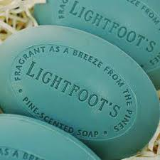 Lightfoot's Athletic Bar Soap