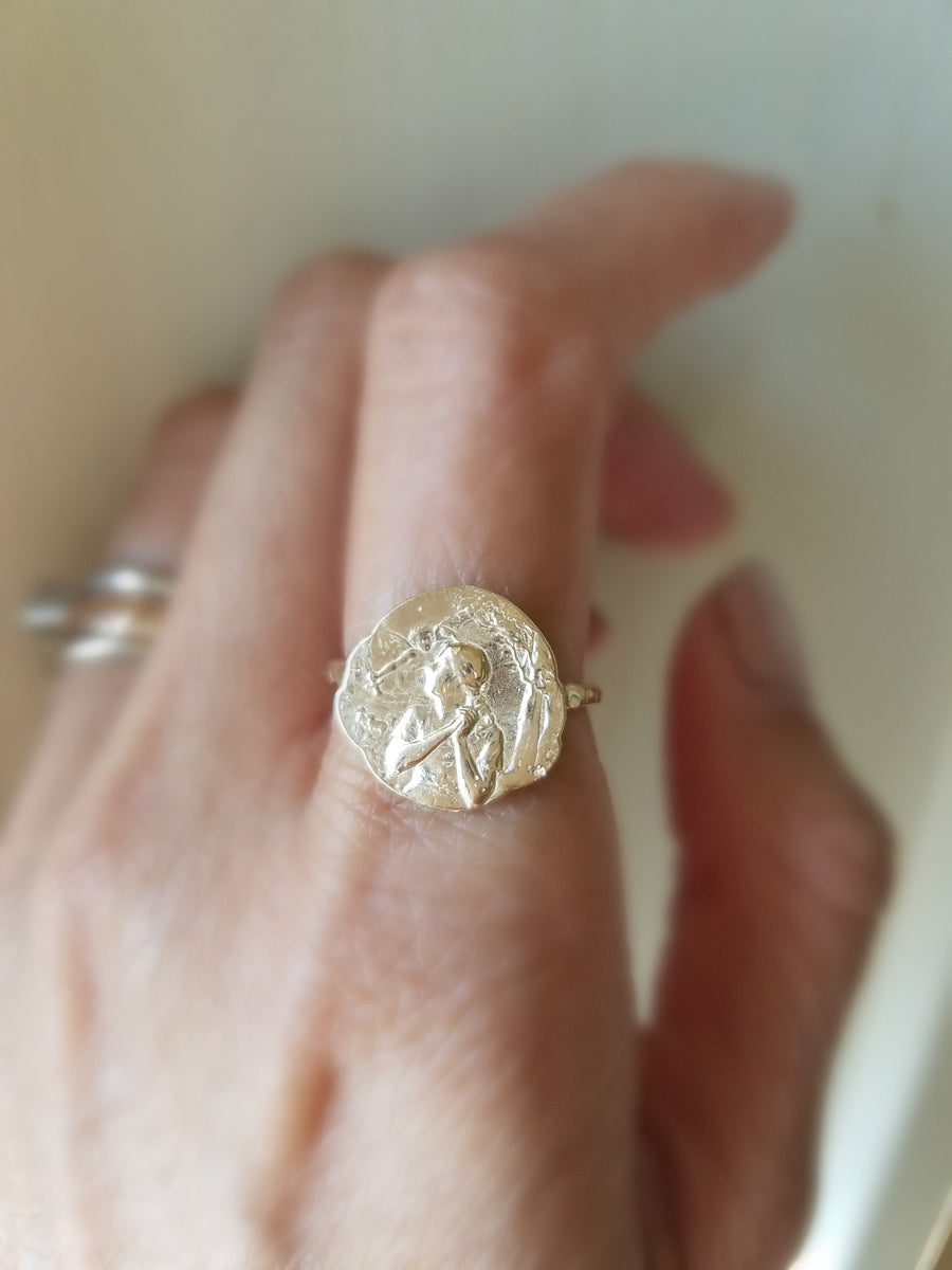 Joan the Warrior Ring
