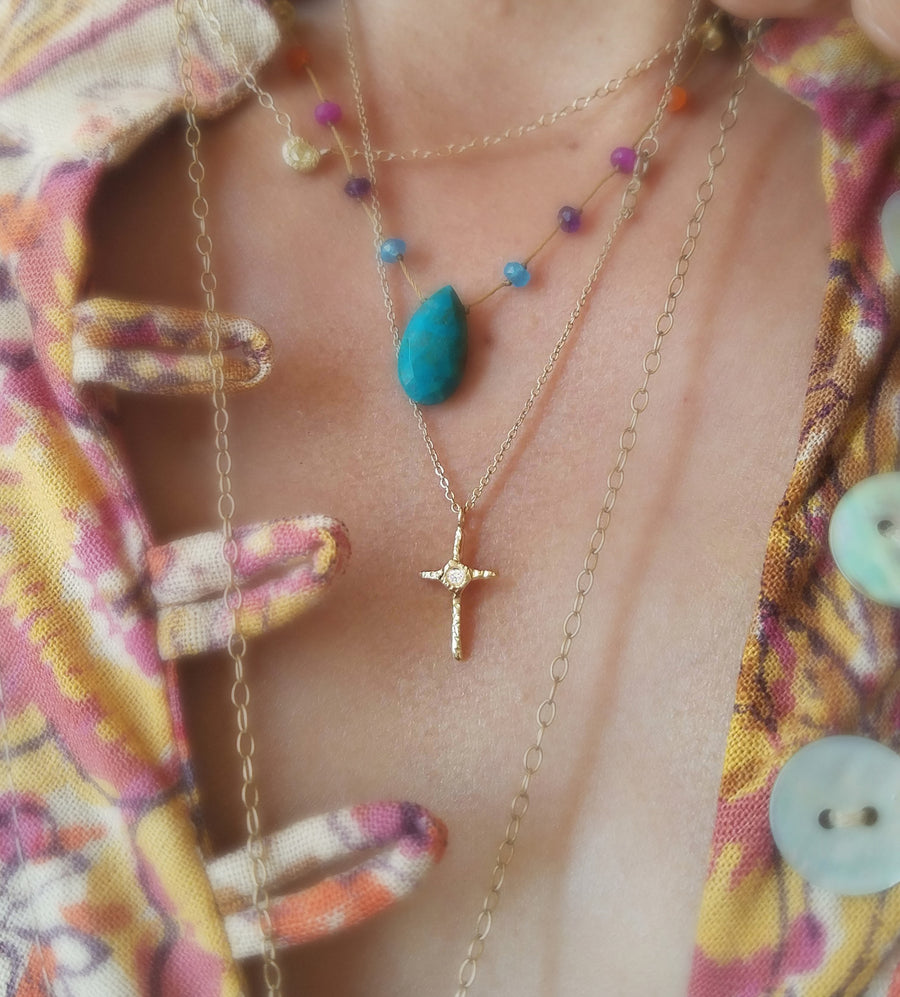 Miraculous Cross Necklace