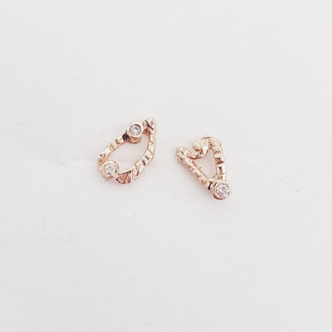Abstract Love Spark Studs