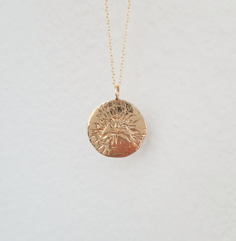 Spirit of Inspiration Medallion Necklace