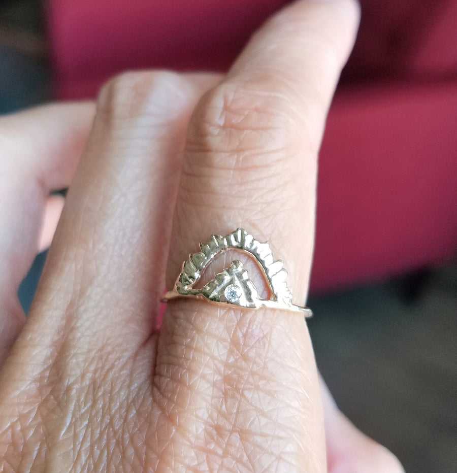 Pyramid Light Supreme Ring