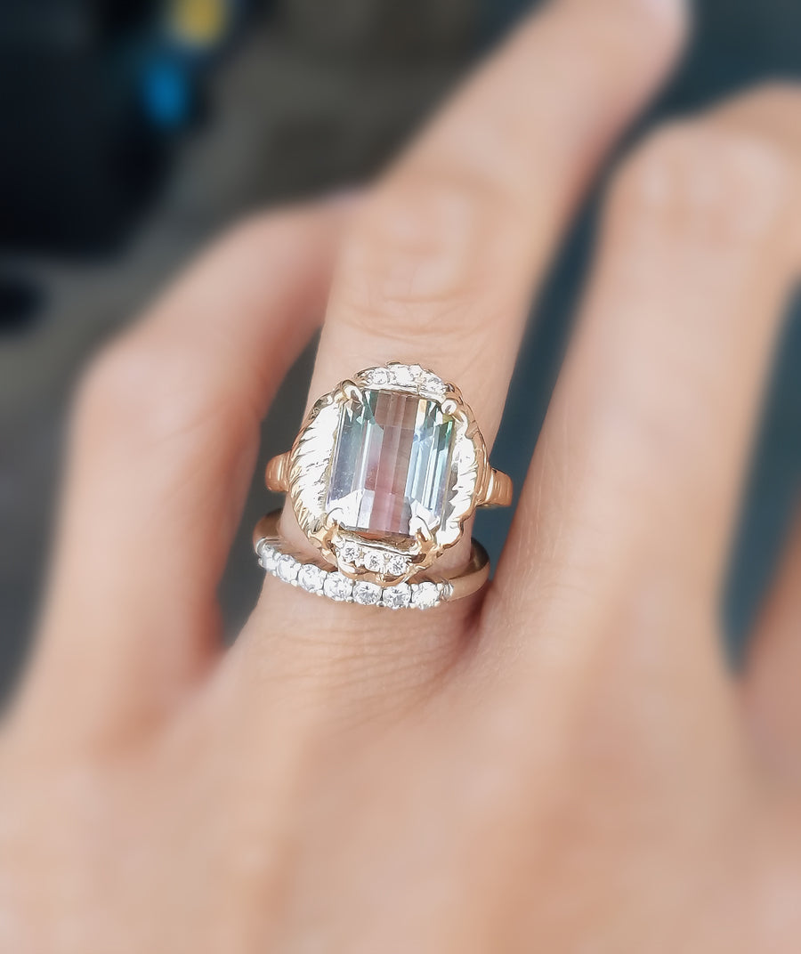 Guardian Queen Tourmaline Ring