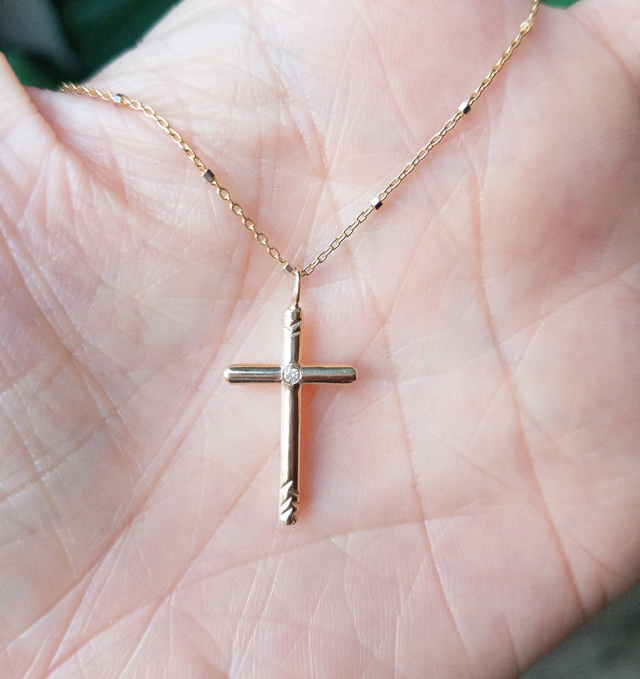 Cross of Light Necklace