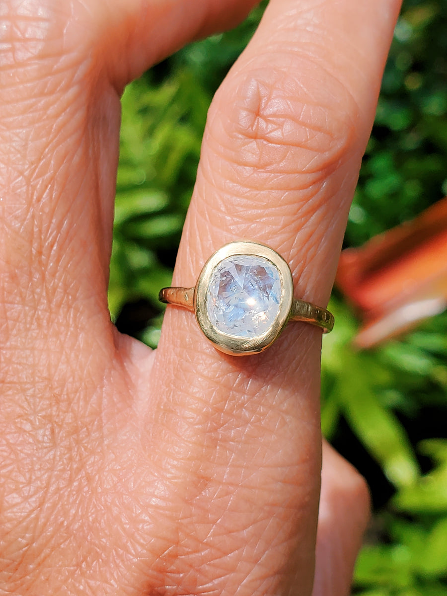 Enchanted Love Rustic Diamond Ring
