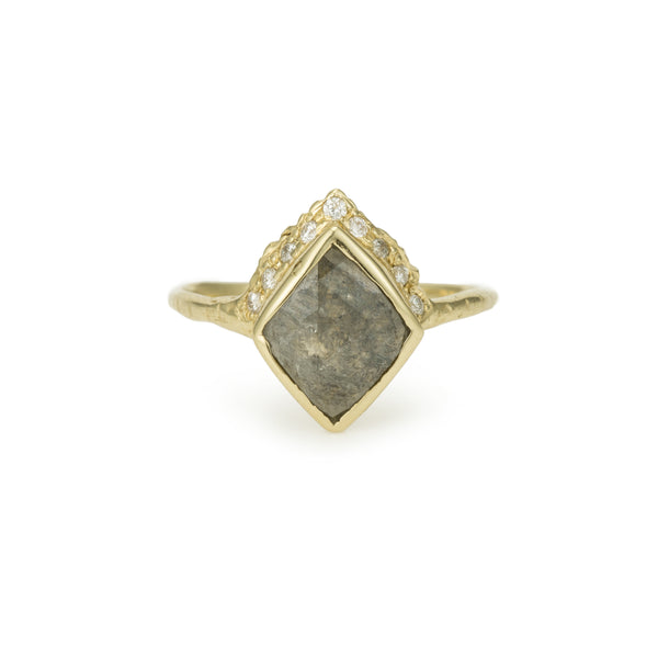 Rustic Diamond: Queen Rustic Diamond Ring II
