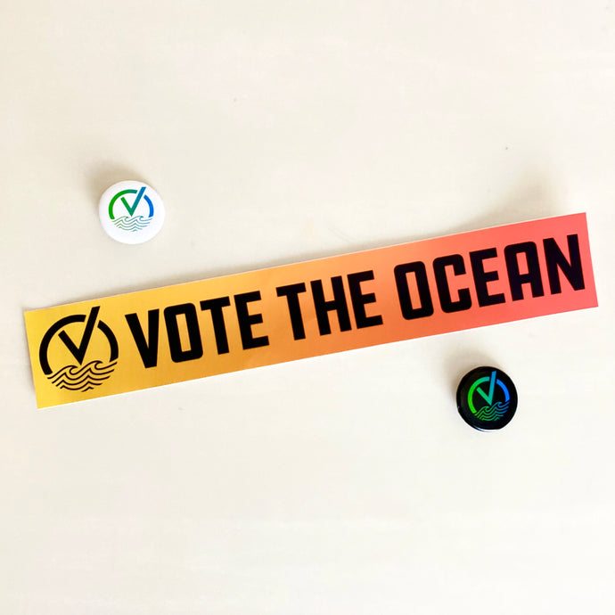 Vote The Ocean Bumper Pack