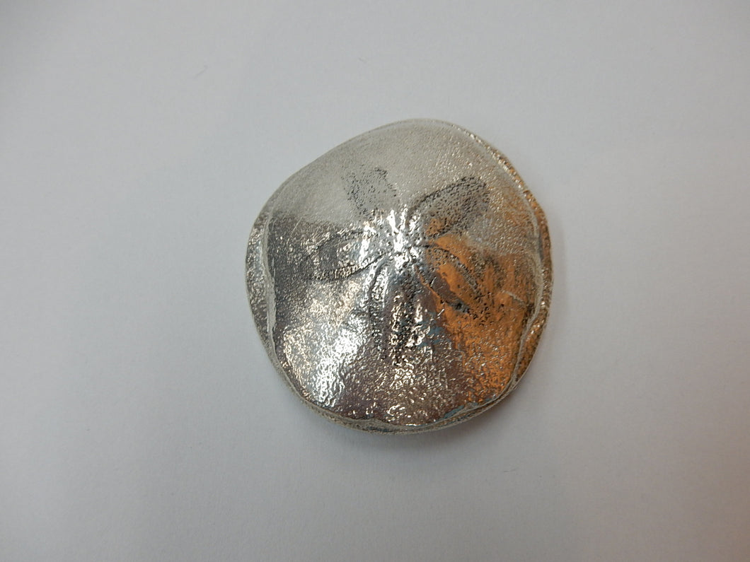 Pewter Sand Dollar Paper Weight