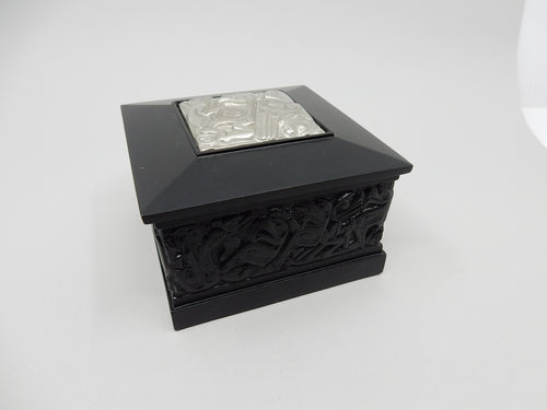 Native Box-w/Pewter Square