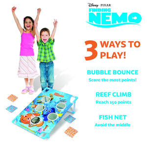 Disney Pixar Finding Nemo Bubble Bounce Game Set by GoSports | Includes 8 Bean Bags and Portable Carrying Case Cornhole playgosports.com