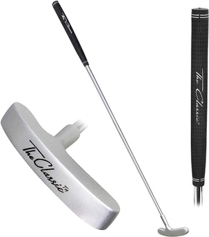 "The Classic Golf Putter by GoSports - Premium Grip and Classic 2 Way Head - 27"" Length Golf playgosports.com"