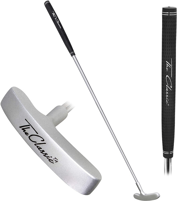 "The Classic Golf Putter by GoSports - Premium Grip and Classic 2 Way Head - 29"" Length"