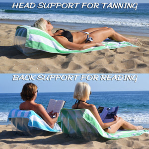 GoSports AirWedge Inflatable Beach Chair - Relax with The Comfort of Air (2-Pack) Beach Chair playgosports.com