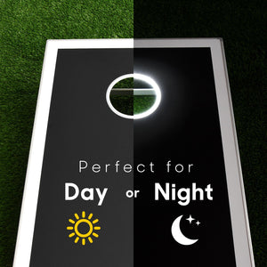 GoSports LED Light Up Cornhole Set, Regulation Size Cornhole playgosports.com