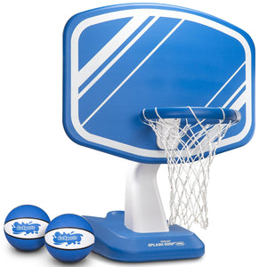 GoSports Splash Hoop PRO Poolside Basketball Game | Includes Hoop, 2 Balls and Pump, Blue Pool Toy playgosports.com