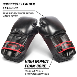 GoSports Counterstrike Training Pads | Revolutionary Gloves for Blocking & Sparing - Great for Boxing, MMA, Karate, Muay Thai and More! Martial Arts playgosports.com