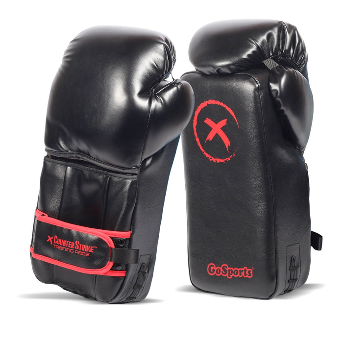 GoSports Counterstrike Training Pads | Revolutionary Gloves for Blocking & Sparing