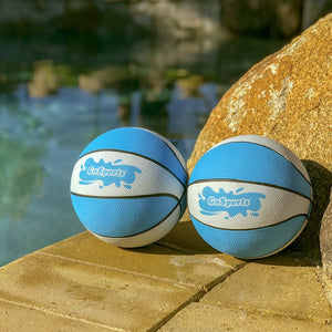 GoSports Water Basketball 2 Pack, Size 3 - Great for Swimming Pool Basketball Hoops Pool Toy playgosports.com