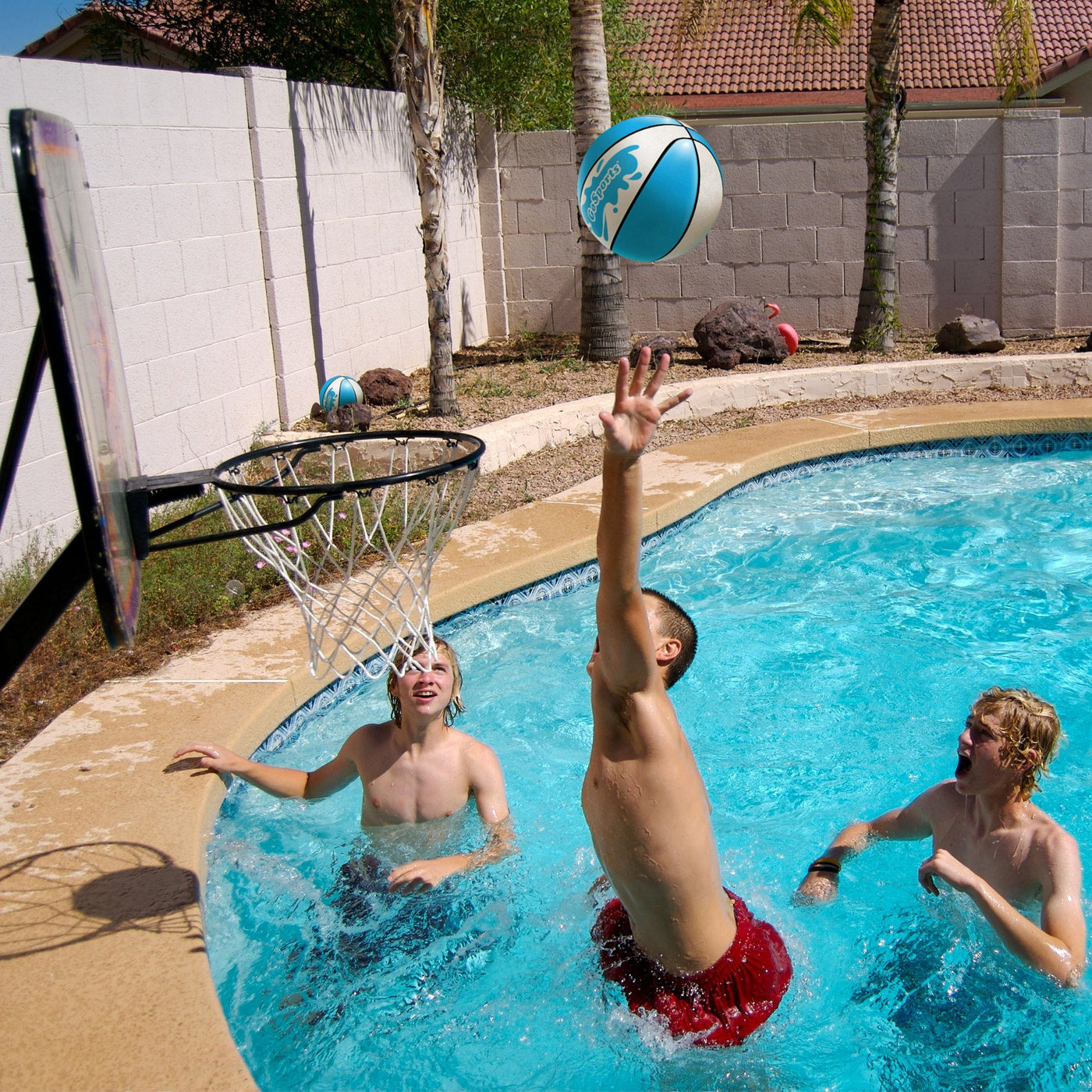 GoSports Water Basketball 2 Pack, Size 3 - Great for ...
