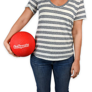 "GoSports 8.5"" Playground Ball (Set of 6) with Carry Bag and Pump, Playground Ball playgosports.com"