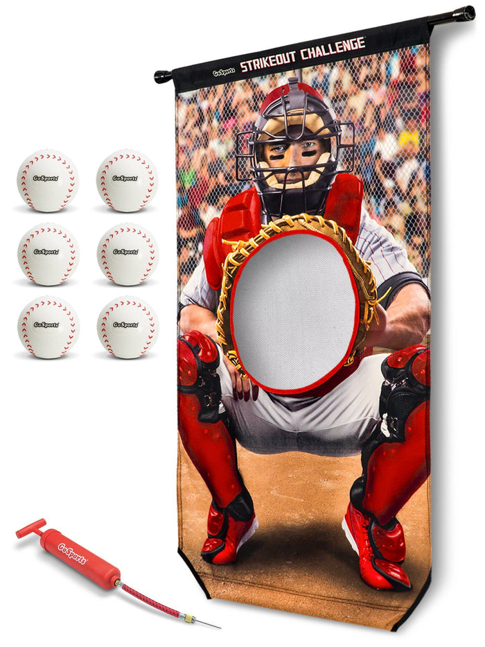 GoSports Strikeout Challenge Baseball Toss Doorway Game