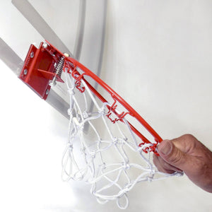 GoSports Basketball Door Hoop with 3 Premium Basketballs & Pump - PRO Size Basketball playgosports.com