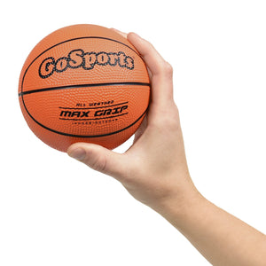 "GoSports 5"" Mini Basketball 3 Pack with Premium Pump - Perfect for Mini Hoops Basketball playgosports.com"