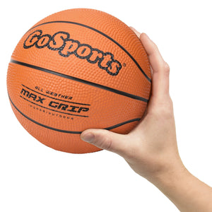 "GoSports 7"" Mini Basketball 3 Pack with Premium Pump - Perfect for Mini Hoops or Training Basketball playgosports.com"