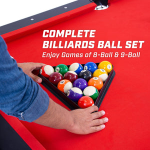 GoSports Regulation Billiards Balls | Complete Set of 16 Professional Balls Billiards playgosports.com