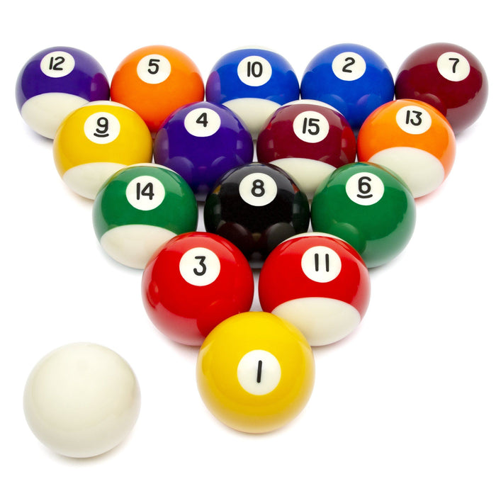 GoSports Regulation Billiards Balls | Complete Set of 16 Professional Balls