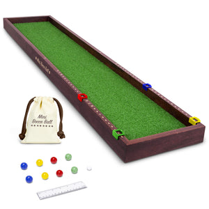 GoSports Mini Bocce Tabletop Game Set for Kids & Adults | Includes 8 Mini Bocce Balls, Pallino and Case Bocce playgosports.com