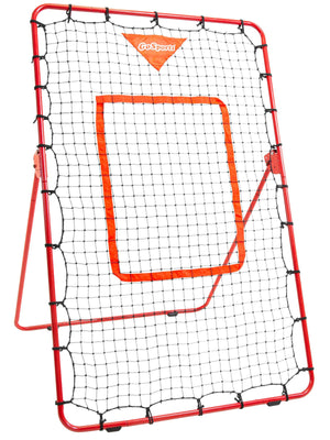 GoSports Baseball & Softball Pitching and Fielding Rebounder Trainer | Adjustable Angle Pitch Back Return Net - Practice Grounders, Pop Flies, Line Drives and More Baseball playgosports.com