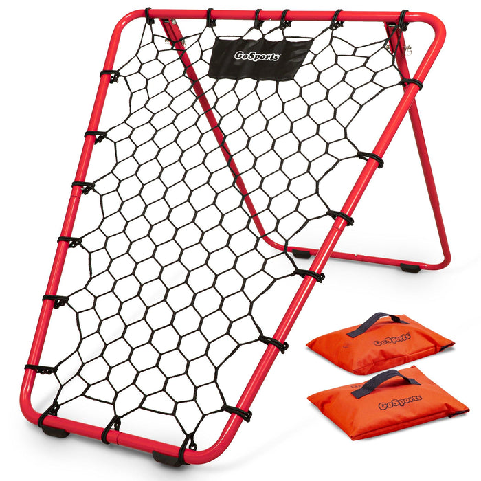 GoSports Basketball Rebounder with Adjustable Frame