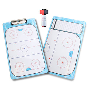 GoSports Hockey Coaches Boards - 2 Sided Premium Dry Erase Clipboards Coaches Board playgosports.com