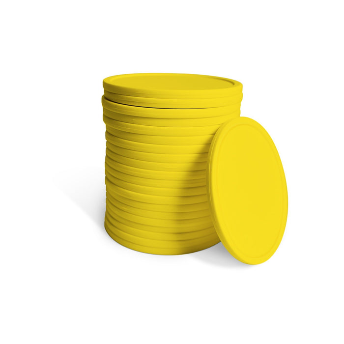 GoSports Giant Four in a Row 21 Replacement Game Coins | For GoSports 3' Size Game - Yellow