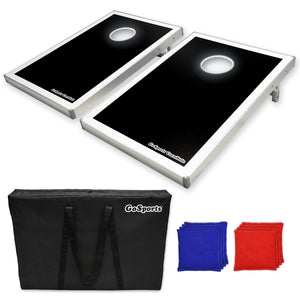 GoSports LED Light Up Cornhole Set, Tailgate Size Cornhole playgosports.com