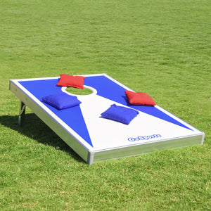 GoSports Classic Cornhole Set Includes 8 Bags, Carry Case and Rules Cornhole playgosports.com