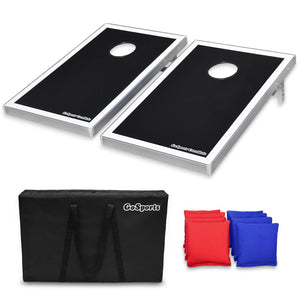 GoSports Cornhole Bean Bag Toss Game Set - Superior Aluminum Frame Cornhole playgosports.com
