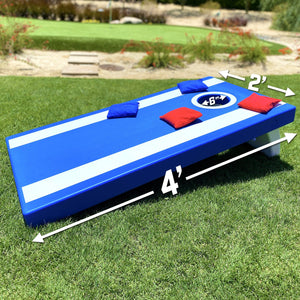GoSports 4'x2' All Weather Cornhole Game Set - Includes 8 Bags & Game Rules Cornhole playgosports.com
