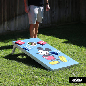 Disney Mickey & Minnie Regulation Size Cornhole Set by GoSports | Includes 8 Bean Bags and Portable Carrying Case Cornhole playgosports.com