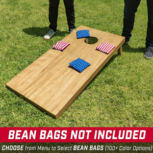 GoSports 4'x2' Regulation Size Wooden Cornhole Boards Set | Includes Carrying Case and Bean Bags (Choose Your Colors) Over 100 Color Combinations Cornhole playgosports.com
