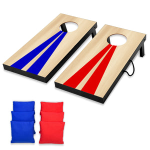 GoSports Portable Junior Size Cornhole Game Set with 6 Bean Bags - Great for All Ages Indoors & Outdoors Cornhole playgosports.com