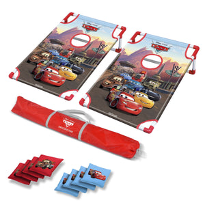 Disney Pixar Cars Bean Bag Toss Game Set by GoSports | Includes 8 Bean Bags with Portable Carrying Case Cornhole playgosports.com