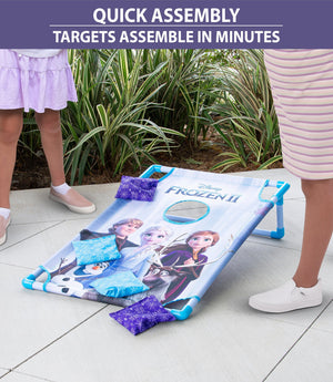 Disney Frozen 2 Bean Bag Toss Game Set by GoSports | Includes 8 Snowflake Bean Bags with Portable Carrying Case Cornhole playgosports.com