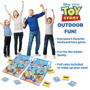 Disney Pixar Toy Story Bean Bag Toss Game Set by GoSports | Includes 8 Bean Bags with Portable Carrying Case Cornhole playgosports.com