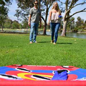 GoSports Bullseye Bounce Cornhole Toss Game - Great for All Ages & Includes Fun rules Cornhole playgosports.com