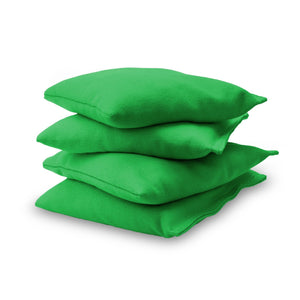 GoSports Official Regulation Cornhole Bean Bags Set (4 All Weather Bags) - Light Green Cornhole playgosports.com